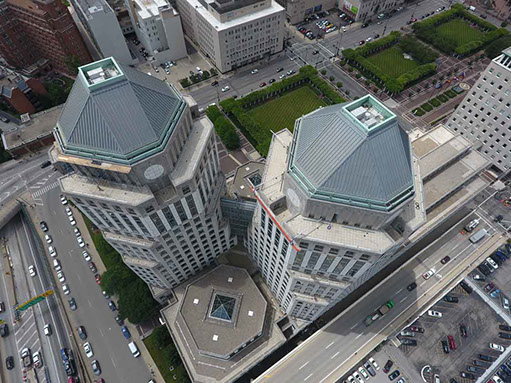 Using Drone Technology To Inspect Building Facades Roofs