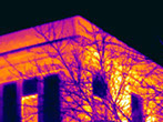 thermal imagery, infrared scanning, thermal imaging for buildings, how to detect heat loss in walls, thermal heat detector
